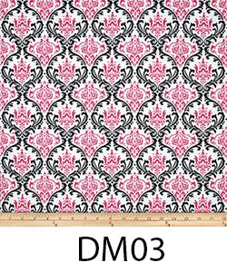DM03 PINK DAMASK